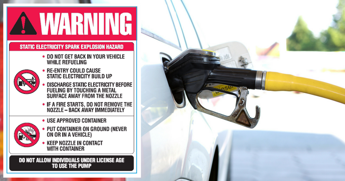 discharge-static-electricity-petrol-station